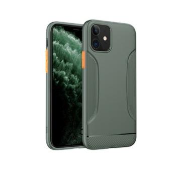 Apple iPhone 11 HOCO Warrior TPU - sötétzöld - Defender/Ütésálló