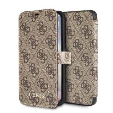 Apple iPhone X/XS GUESS GUFLBKPX4GB Könyvtok - barna