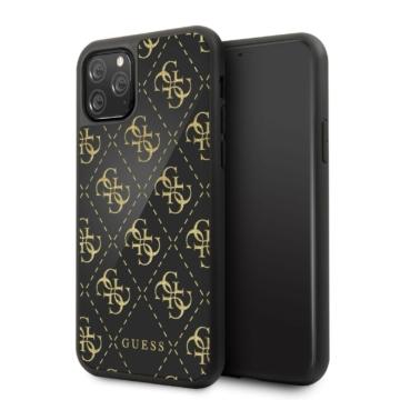 Apple iPhone 11 Pro GUESS GUHCN584GGPBK Hátlap - fekete