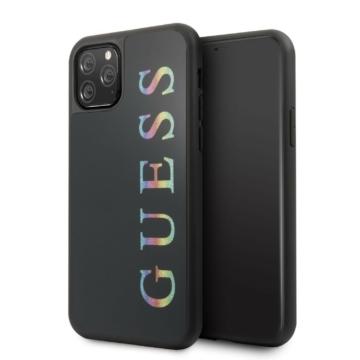 Apple iPhone 11 Pro GUESS GUHCN58LGMLBK Hátlap - Fekete