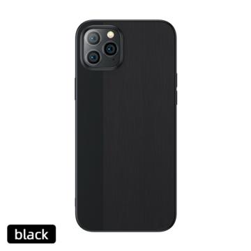 Apple iPhone 12 JOYROOM JR-BP766 Shadow TPU Hátlap - fekete