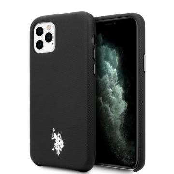 Apple iPhone 11 Pro U. S. Polo USHCN58PUBK Hátlap - fekete