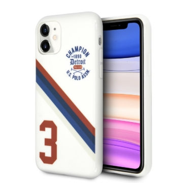 Apple iPhone 11 U. S. Polo (USHCN61PCDGS) Hátlap - fehér