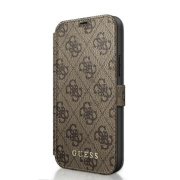 Apple iPhone 12/12 Pro GUESS GUFLBKSP12M4GB Könyvtok - barna