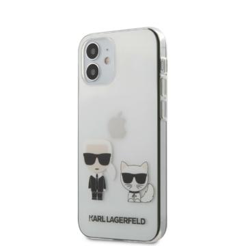 Apple iPhone 12 Mini KARL LAGERFELD KLHCP12SCKTR TPU Hátlap - Átlátszó