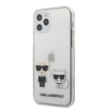 Apple iPhone 12/12 Pro KARL LAGERFELD KLHCP12MCKTR TPU Hátlap - Átlátszó