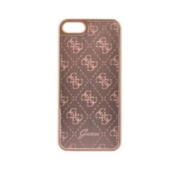 Apple iPhone 5/5S/SE GUESS GUHCPSEMEGO Hátlap - rose gold