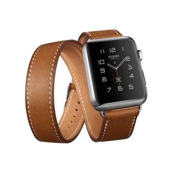 Apple Watch átkötős szíj. Brown. 42/44mm
