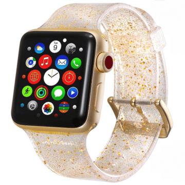 Apple Watch csillámos szíj - arany - 38 mm/40 mm