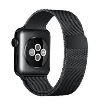 Apple Watch milánói szíj - fekete - 38 mm/40 mm