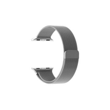 Apple Watch milánói szíj - ezüst - 42 mm/44 mm