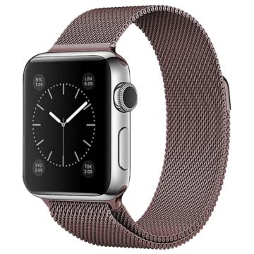 Apple Watch milánói szíj - barna - 42 mm/44 mm