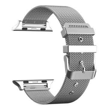 Apple Watch rozsdamentes. vékony acél szíj . Ezüst. 38/40mm