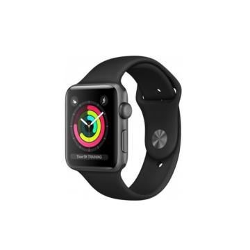 Apple Watch sportszíj - fekete - 42 mm/44 mm