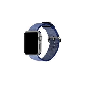 Apple Watch szőtt műanyag szíj - kék - 42 mm/44 mm