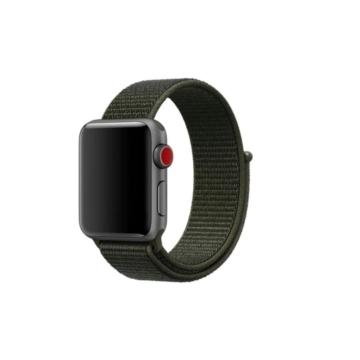 Apple Watch tépőzáras szíj Khaki 42/44mm