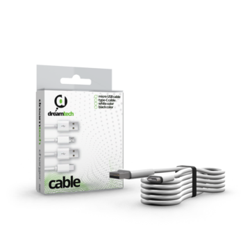 Dreamtech Cable - White (Usb-c)
