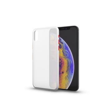 Matt tok színes gombokkal átlátszó Samsung S20 készülékhez