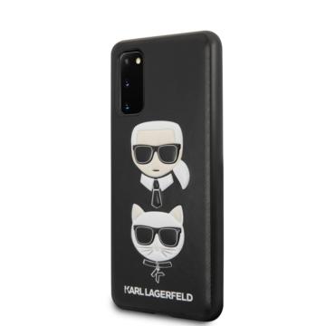 Karl Lagerfeld tok fekete (KLHCS62KICKC) Samsung S20 készülékhez