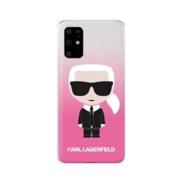 Karl Lagerfeld tok rózsaszín (KLHCS67TRDFKPI) Samsung S20+ készülékhez