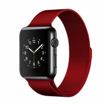 Apple Watch milánói szíj - piros - 42 mm/44 mm