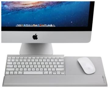 Rain Design mRest – iMac billentyűzet csuklótámasz és egérpad Ezüst