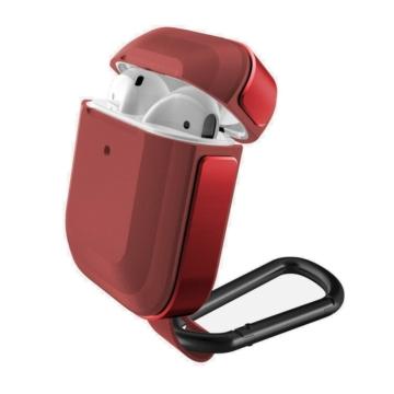 Raptic Defense Trek védőtok Apple Airpods készülékhez. Piros