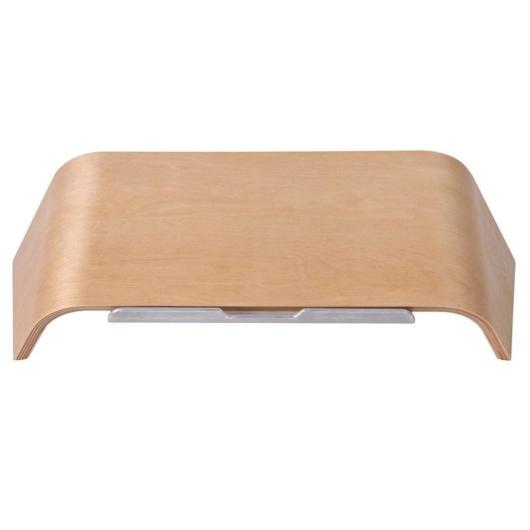 Macbook laptop tartó - bambusz