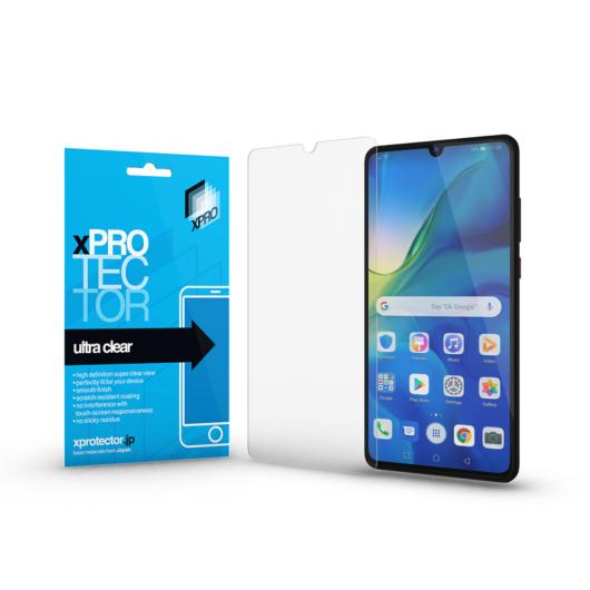 Ultra Clear kijelzővédő fólia Huawei P30 készülékhez