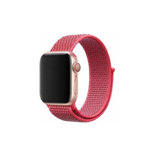 Apple Watch tépőzáras szíj - pink - 38 mm/40 mm