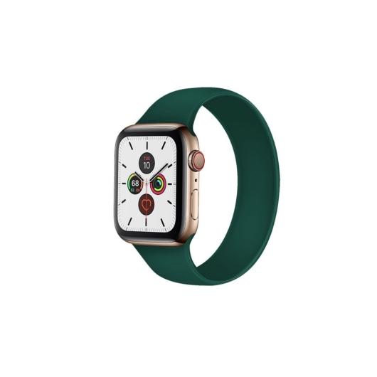Apple Watch solo szilikonszíj - zöld - 42 mm/44 mm, L-méret