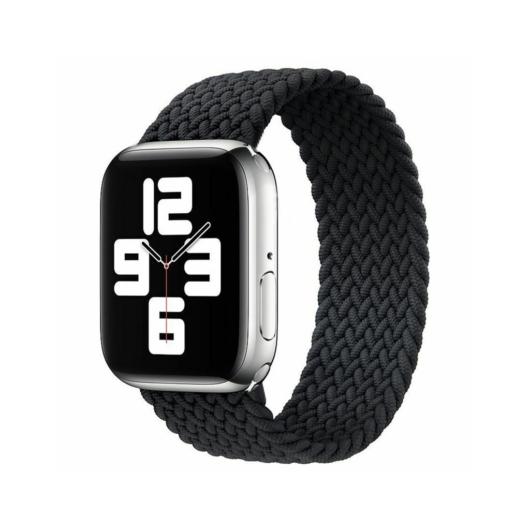 Apple Watch fonott körpánt - fekete - 38 mm/40 mm, M-méret