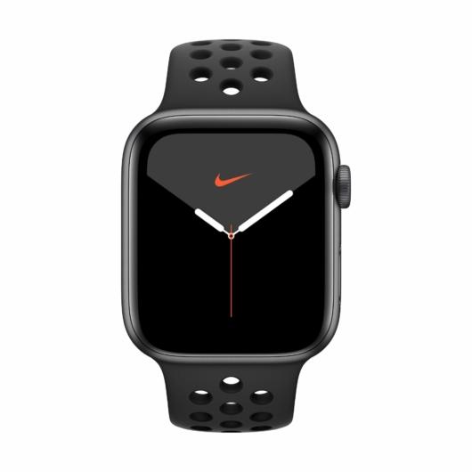 Apple Watch Nike 5 GPS alumínium 44 mm - Grey/black sport