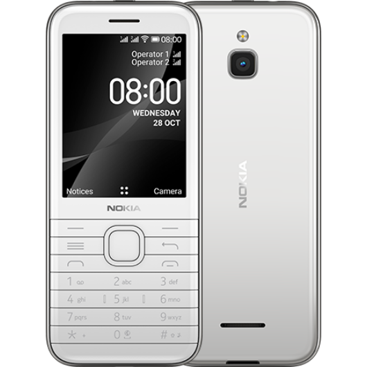 Nokia 8000 4G TA-1305 DS fehér