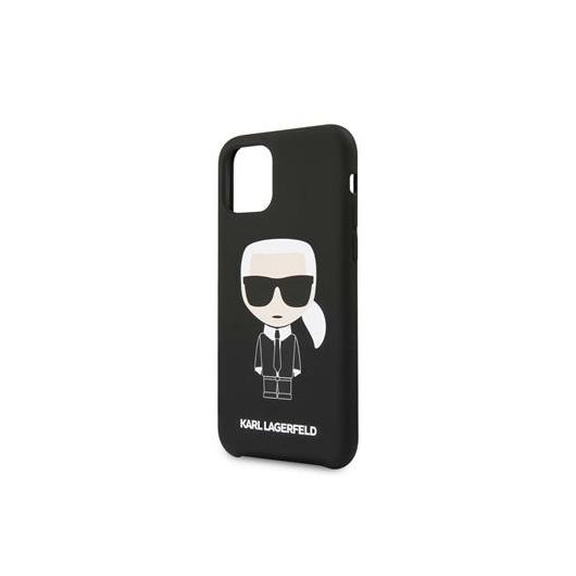 KARL LAGERFELD iPhone 11 tok (KLHCN61SLFKBK) - fekete