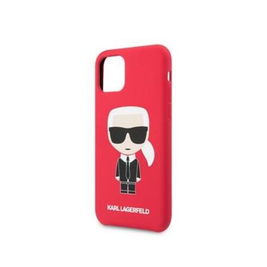 KARL LAGERFELD iPhone 11 Pro Max tok (KLHCN65SLFKRE) - piros