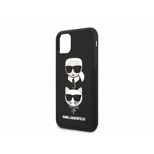 KARL LAGERFELD iPhone 11 Pro tok (KLHCN58IK3DKC) - fekete