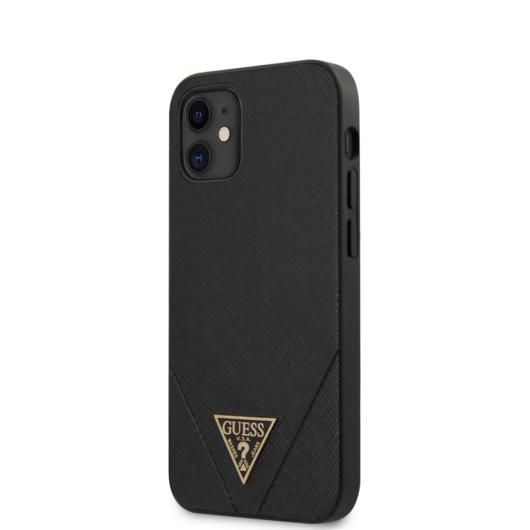 "GUESS iPhone 12 Mini tok 5,4"" (GUHCP12SVSATMLBK) - fekete"