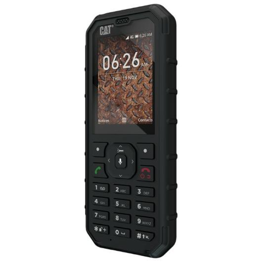 CAT B35 Dual SIM Black - csepp-, por- és ütésálló kártyafüggetlen mobiltelefon