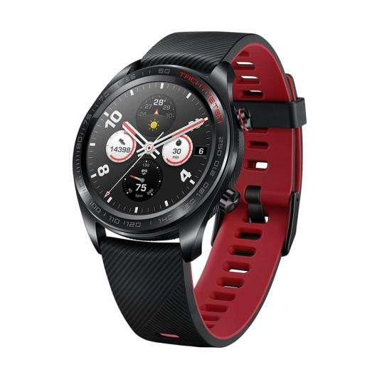 Honor Magic Watch Lava Black - pulzusmérő, vízálló okosóra