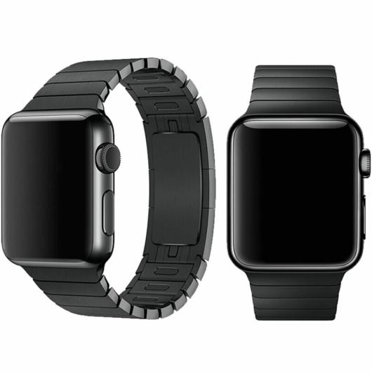 DEVIA Apple watch Elegant Series Link Bracelet 38/40 mm óraszíj - fekete