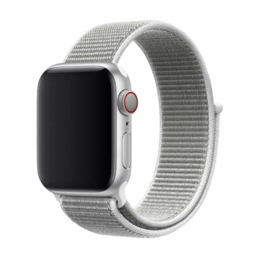 DEVIA Apple watch Deluxe Series Sport 3 Band 42/44mm óraszíj - szürke