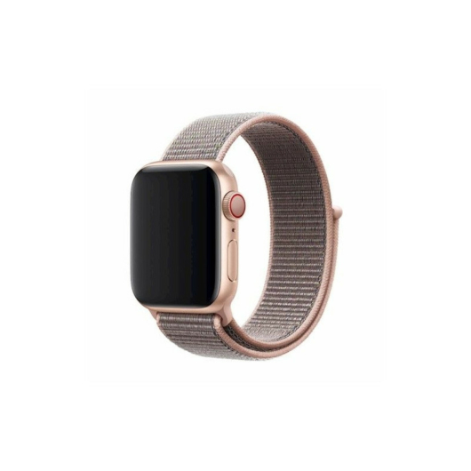 DEVIA Apple watch Deluxe Series Sport 3 Band 42/44 mm óraszíj - rózsaszín