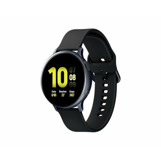 Samsung Galaxy Watch Active2 R820 okosóra - 44 mm, alumínium - fekete