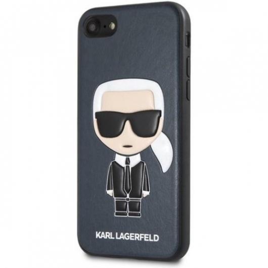 Apple iPhone 7/8/SE2 KARL LAGERFELD KLHCI8IKPUBL Hátlap – Kék