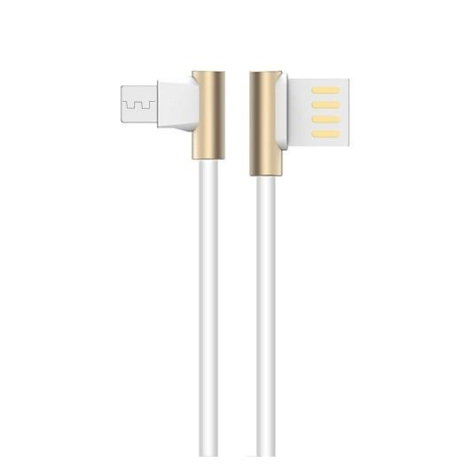 Joyroom S-M341 Micro USB 1M L Adatkábel - Fehér - L alak
