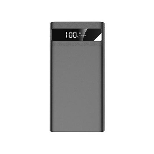 Joyroom D-M173 Nick 10000 mAh Powerbank - Grafit - Tőltés Kijelzés