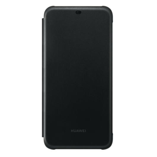 Huawei Mate 20 Lite Flip Cover Könyvtok - Fekete - Smart/Aktív