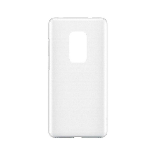 Huawei Mate 20 Flexible Clear Case TPU Hátlap - Átlátszó - Anti-Shock/Ütésálló