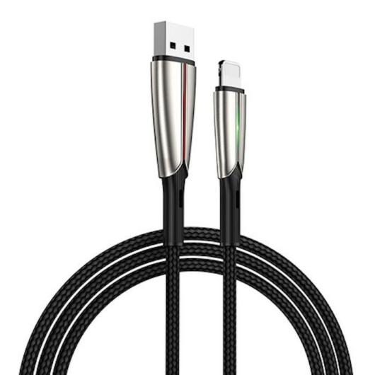 Joyroom S-M399 3A Micro USB 1.5M Adatkábel - Fekete - Quick Charge/Gyorstöltés
